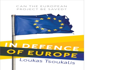 The new book of Loukas Tsoukalis entitled:'In Defense of Europe. Can the European project be saved?' is being published by the Oxford University Press on June 16th, 2016. The book will be launched in several european capitals mid-June.